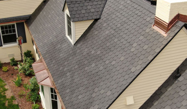 Replacing Your Roof - The Newest Synthetic Roofing Shingle Outlasts Asphalt Shingles